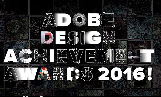 Adobe Design Achievement Awards 2016
