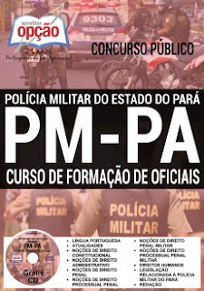 Apostila para o cargo de Oficial do concurso 2016 da PM-PA (Polícia Militar do Pará)
