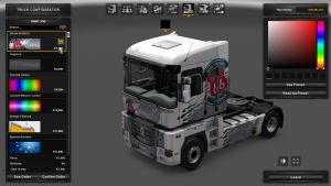 Route 66 White Skin for Renault Magnum