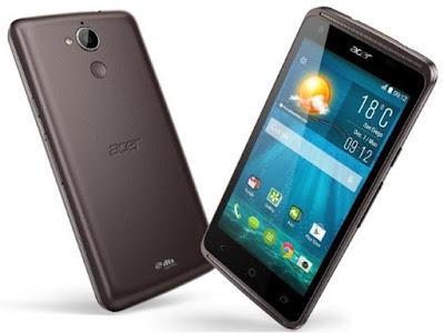 Acer Liquid Z410 Specifications - LAUNCH Announced 2015, January DISPLAY Type IPS LCD capacitive touchscreen, 16M colors Size 4.5 inches (~61.5% screen-to-body ratio) Resolution 540 x 960 pixels (~245 ppi pixel density) Multitouch Yes BODY Dimensions 136 x 66.7 x 9.9 mm (5.35 x 2.63 x 0.39 in) Weight 145 g (5.11 oz) SIM Single SIM (Micro-SIM) or Dual SIM (Micro-SIM, dual stand-by) PLATFORM OS Android OS, v4.4.4 (KitKat) CPU Quad-core 1.3 GHz Cortex-A53 Chipset Mediatek MT6732M GPU Mali-T760MP2 MEMORY Card slot microSD, up to 32 GB (dedicated slot) Internal 8 GB, 1 GB RAM 16 GB, 2 GB RAM CAMERA Primary 5 MP, autofocus, LED flash Secondary 2 MP Features Geo-tagging, touch focus, face detection Video Yes, dual shot NETWORK Technology GSM / HSPA / LTE 2G bands GSM 850 / 900 / 1800 / 1900 - SIM 1 & SIM 2 (dual-SIM model only) 3G bands  HSDPA 900 / 2100    HSDPA 850 / 900 / 1900 / 2100 4G bands LTE band 1(2100), 3(1800), 7(2600), 20(800)    LTE band 2(1900), 4(1700/2100), 7(2600), 17(700) Speed HSPA, LTE Cat4 150/50 Mbps GPRS Yes EDGE Yes COMMS WLAN Wi-Fi 802.11 b/g/n, hotspot GPS Yes, with A-GPS USB microUSB v2.0 Radio FM radio Bluetooth v4.0, A2DP FEATURES Sensors Accelerometer, proximity Messaging SMS (threaded view), MMS, Email, Push Email Browser HTML Java No SOUND Alert types Vibration; MP3, WAV ringtones Loudspeaker Yes, dual speakers 3.5mm jack Yes  - DTS sound  - Active noise cancellation with dedicated mic BATTERY  Removable Li-Po 2000 mAh battery Stand-by  Talk time  Music play  MISC Colors Black  - MP3/WAV/WMA/AAC player - MP4/H.264 player - Document viewer - Photo editor