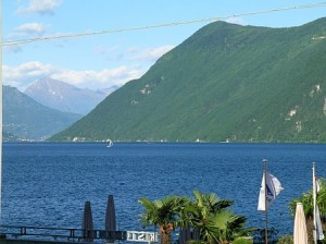 Lugano in the Italian Part of Switzerland