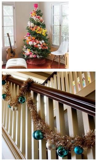 decorar la casa por dentro en navidad, decoraciones bonitas navideñas