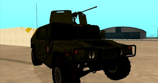 Humvee Serbian Army by BRAT & D_and_G | Gta San Andreas Mods Cleo 3