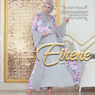 long dress pesta elegan Ayyanameena Eirene Grey