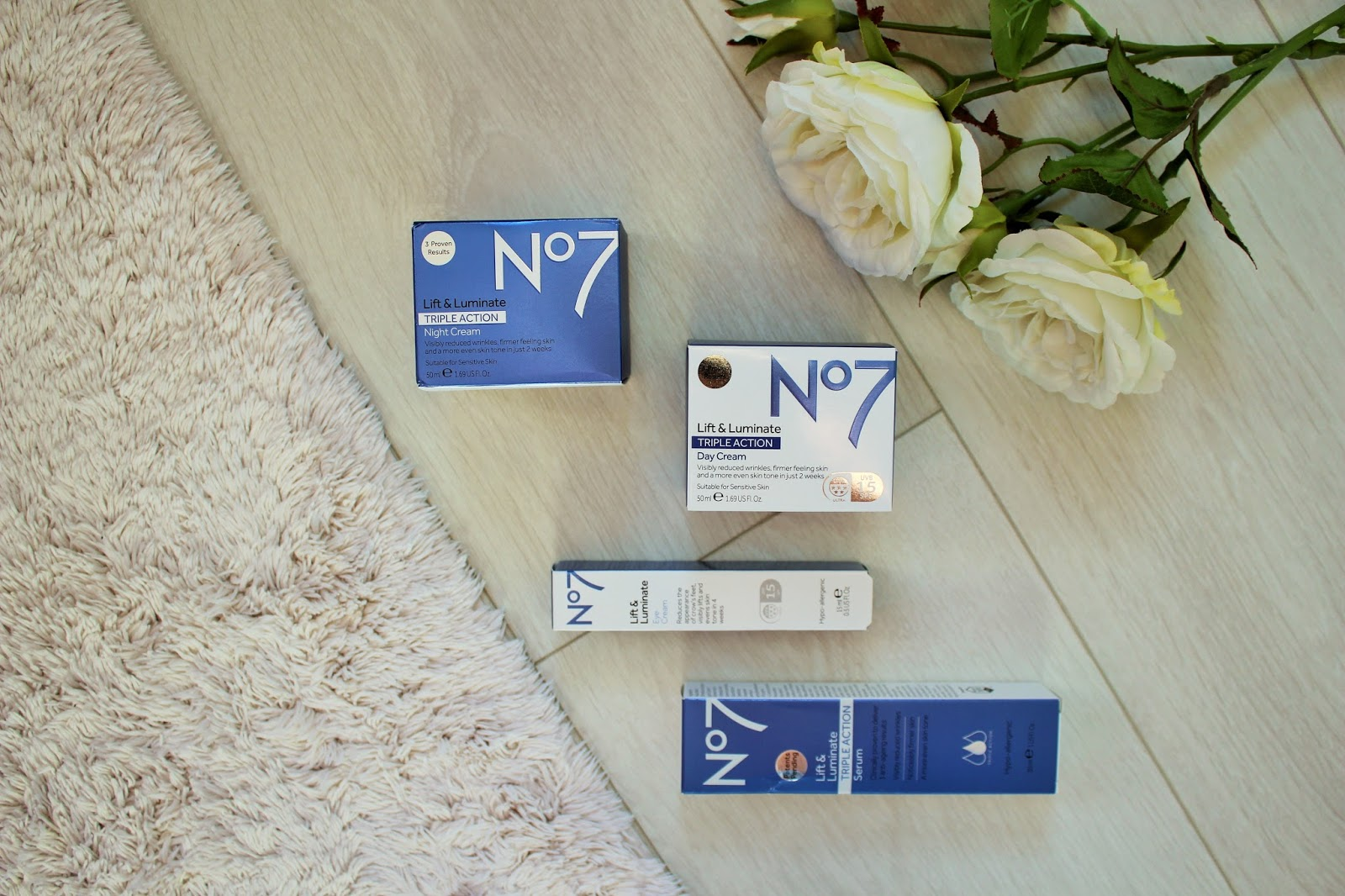 No7 Lift & Luminate Triple Action Range - First Impressions and Giveaway 1
