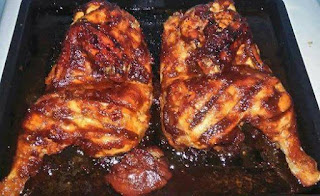 Resepi Ayam Bakar Kenny Roger Cara Masak