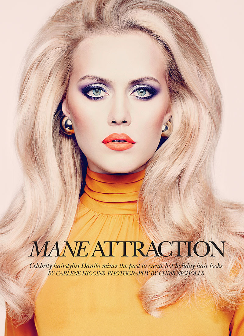 Mane Attraction ~ Dramatic Hair & Makeup Editorial - Asian ...