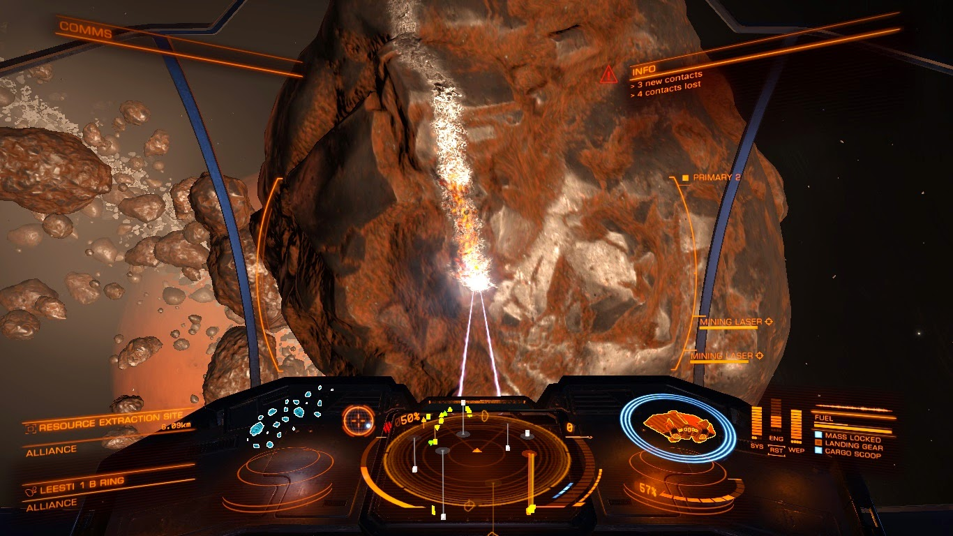 Captains Blog: Elite Dangerous Outfitters - Mining in an Asp
