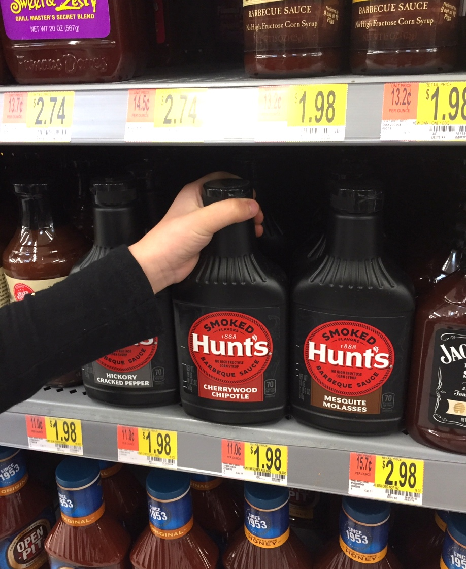 Hunt's BBQ sauce