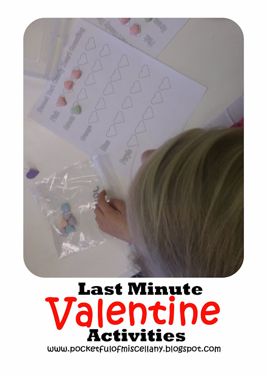 Last Minute Valentine Activities
