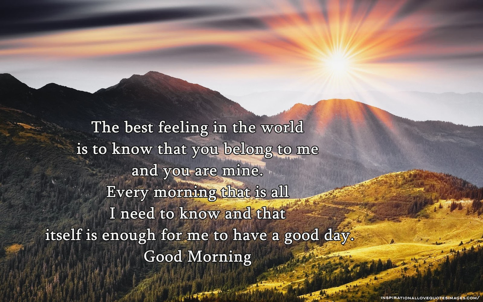Love Quotes For Her To Say Good Morning : Good Morning Love Quotes For Her Good Morning Love Quotes For Her Good ...