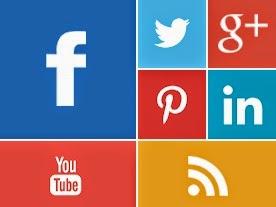 Metro Style Social Media Widget
