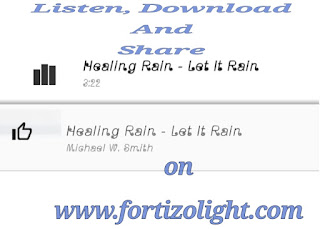 Download Michael W. Smith's song titled Healing Rain Is Falling Down