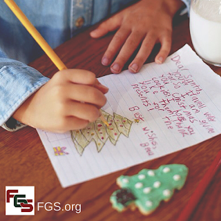 Dear Santa: What I Want This Year for My Genealogy Society via FGS.org