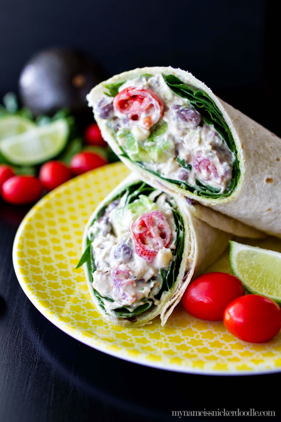 It's chicken salad with a twist! This recipe for Southwestern Chicken Salad makes for a perfect easy lunch or dinner!   My Name Is Snickerdoodle
