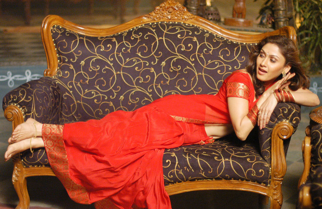 Manjari Hot Red Saree Photoshoot-2 |Beautiful Indian ...