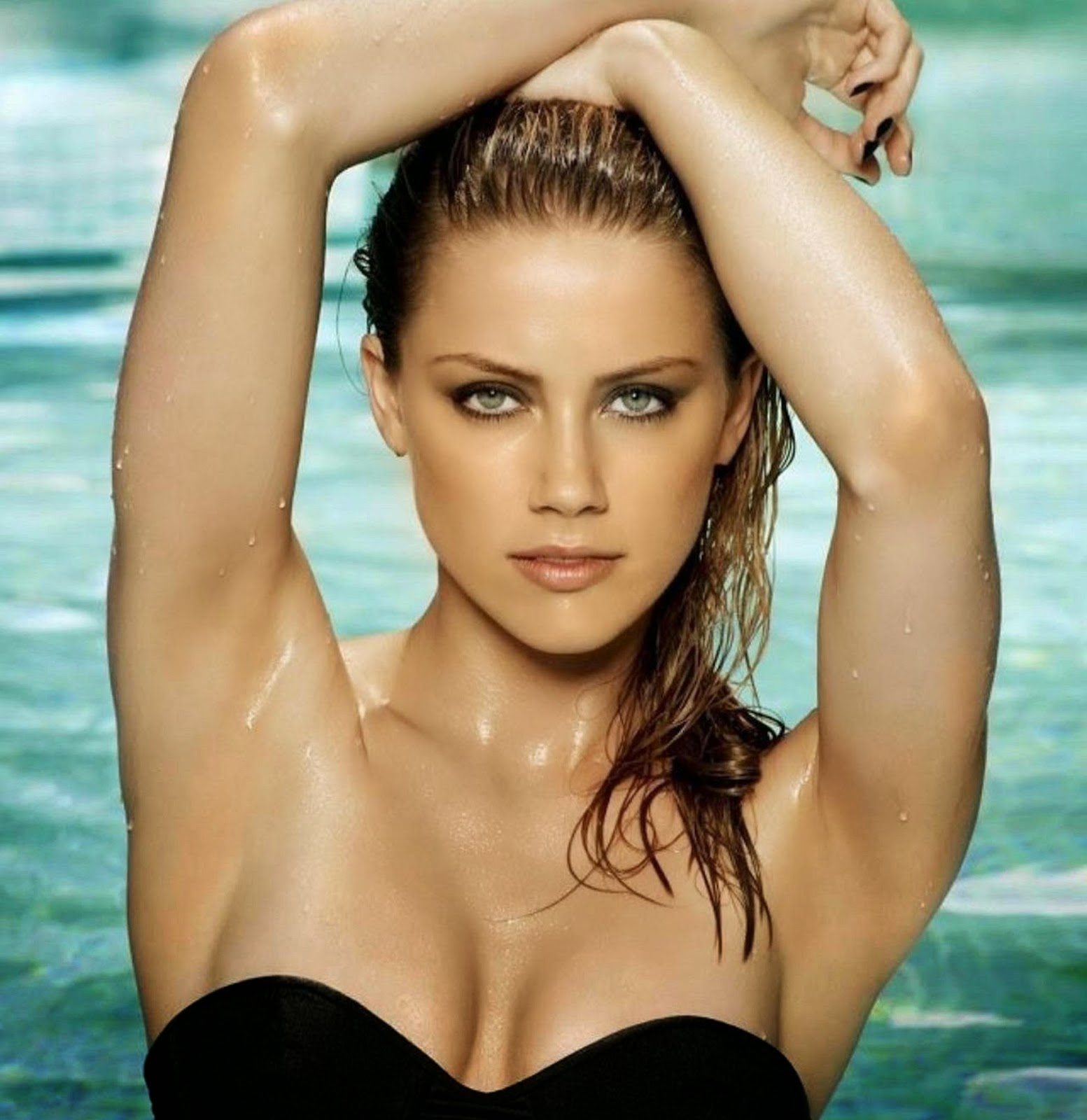 Hollywood Actress Wallpaper: Amber Heard Wallpapers