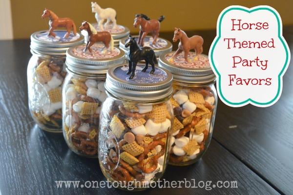 Horse Theme Party Favors