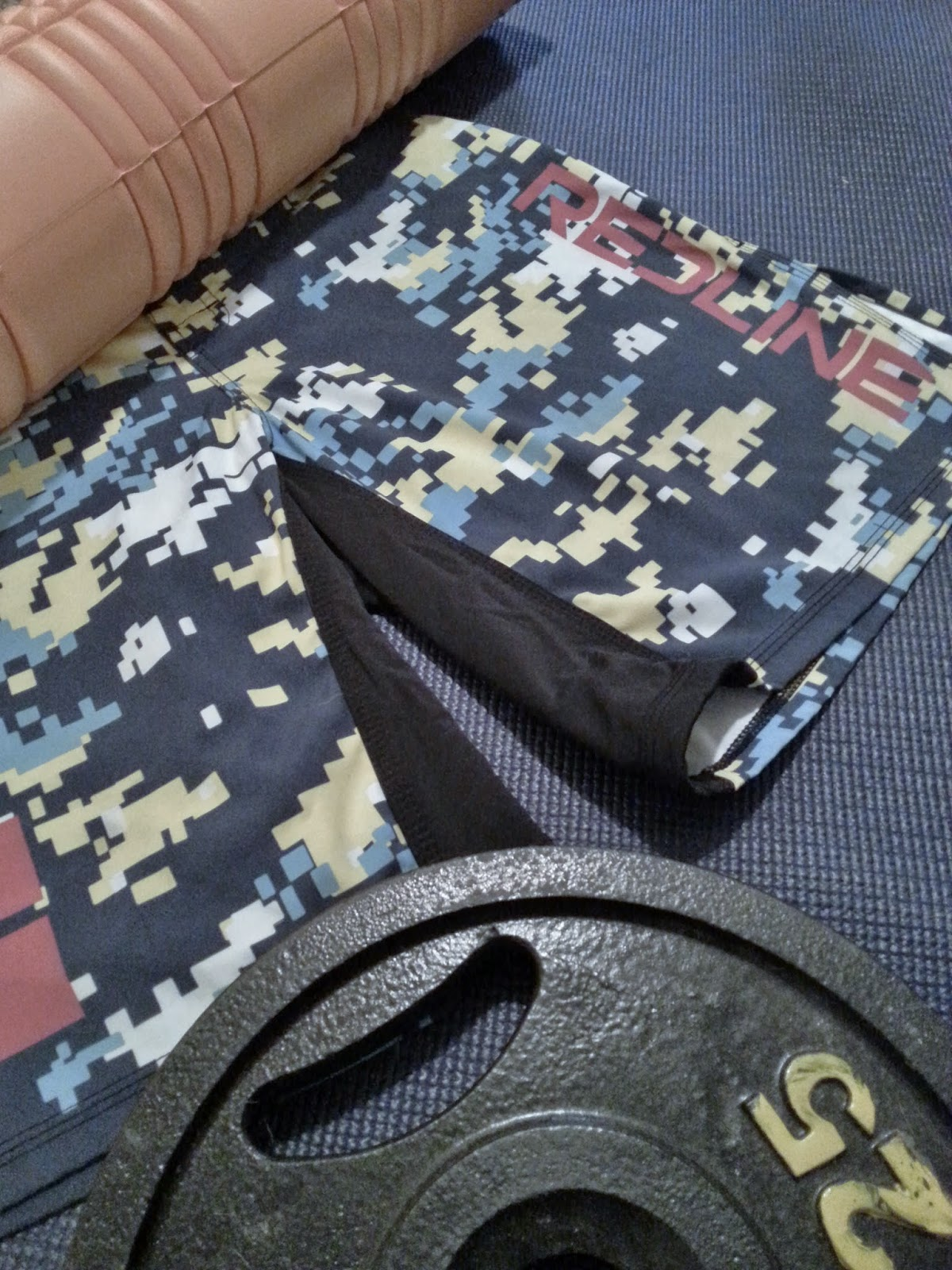 Omega One Gear Reviews : Red Line Gear - WOD Shorts