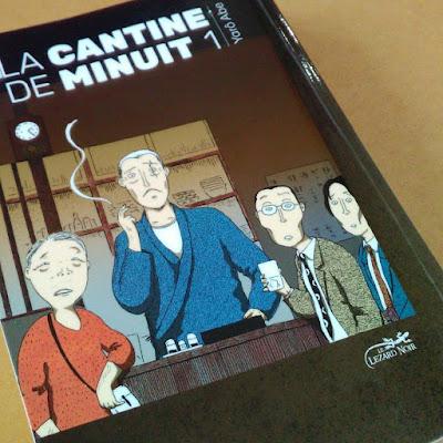 La cantine de minuit - Yrô Abe -traduction de Miyako Slocombe - Editions Le Lézard noir - 2017