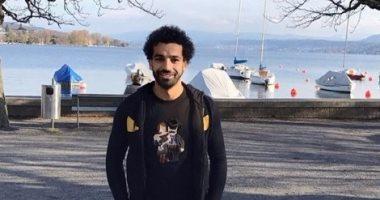 محمد صلاح في سويسرا قبل الانضمام للمنتخب