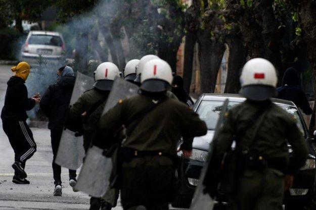Ξυλοδαρμός πολίτη στα Εξάρχεια επειδή φορούσε μπλούζα με σύνθημα για τη Μακεδονία