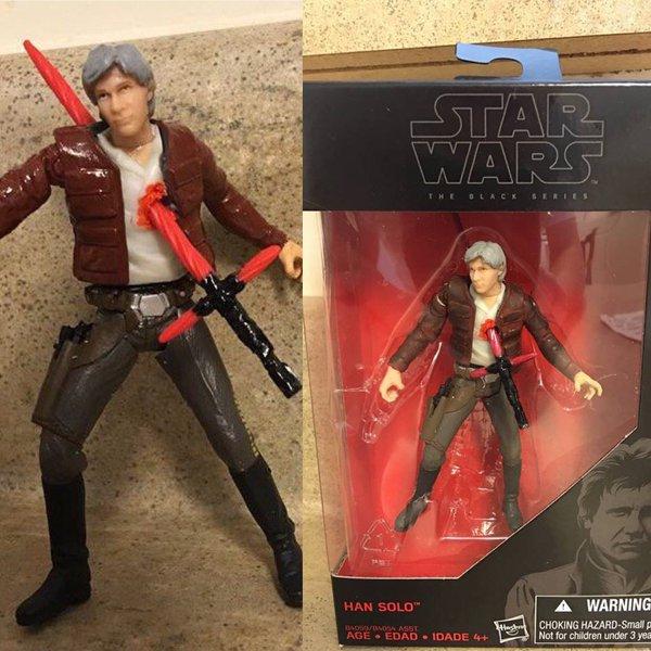 Han Solo muerto