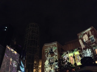 Kawasaki Halloween projection mapping