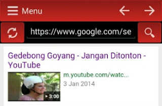 Cara download videop lewat youtube