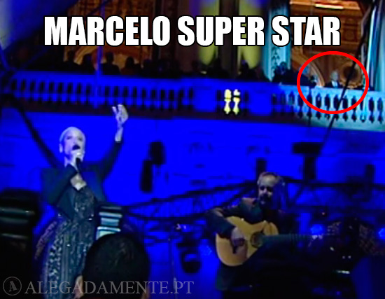 Imagem Marcelo Rebelo de Sousa – Marcelo Super Star?