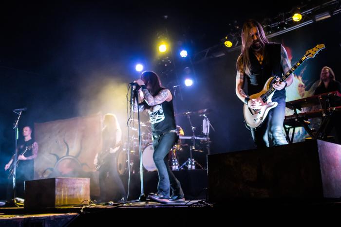 Amorphis metalband rockband tour 2016