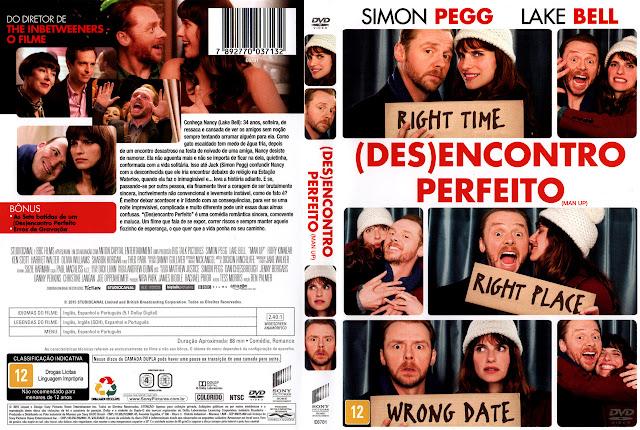 Capa DVD (DES)ENCONTRO PERFEITO