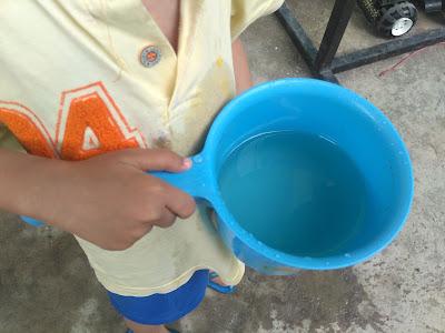 kondisi air sebelum difilter
