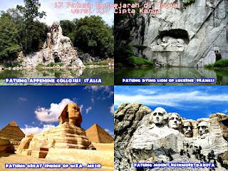 17 Patung Bersejarah di Dunia versi K17 Cipta Karya