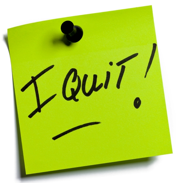 Image result for i quit