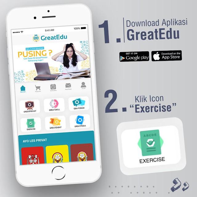 Menjadi Pintar Bersama Aplikasi GreatEdu
