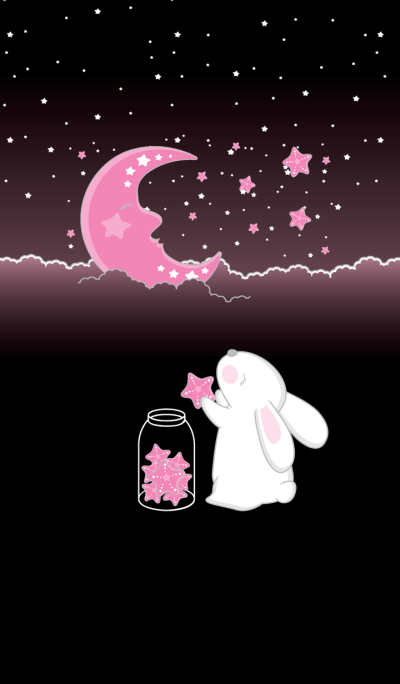 Rabbit on the moon II