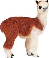Alpaca Toy Miniature adult brown white