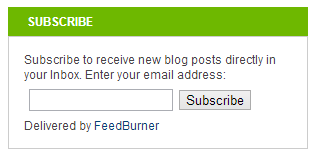 Simple Subscribe Box Without Placeholder