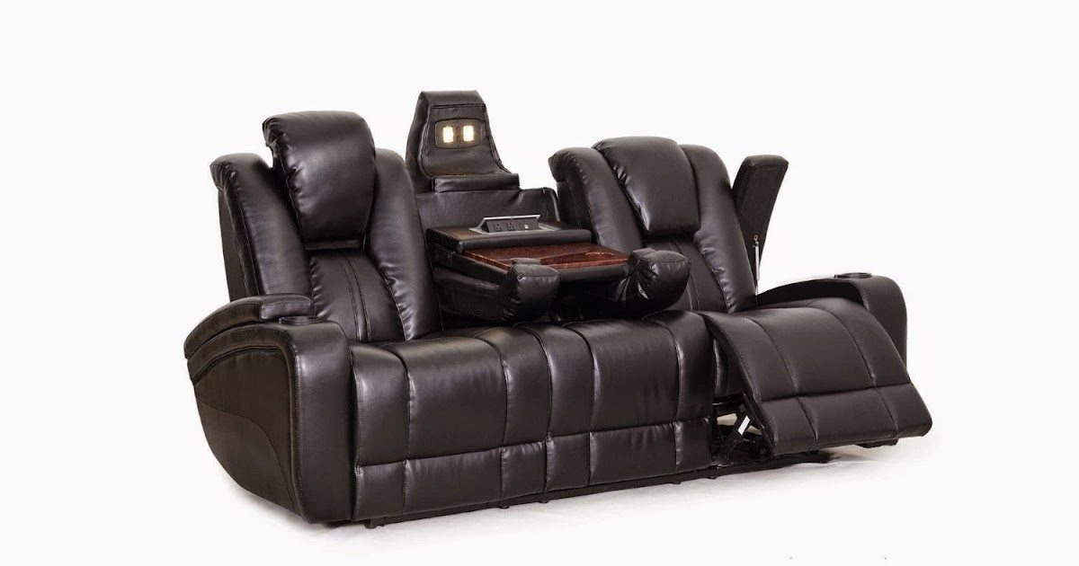 small modern sofas uk sectional for condos the best reclining sofa reviews: power leather ...