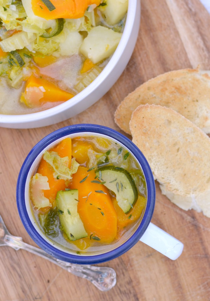 Autumn Vegetable Soup - a Pressure Cooker Recipe