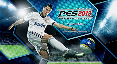 صورة بداية لعبة Pro Evolution Soccer 2013 قبل الدخول