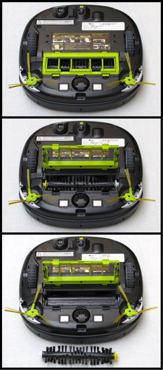 LG Hom-Bot Square 3.0 VR6260LV, paletta