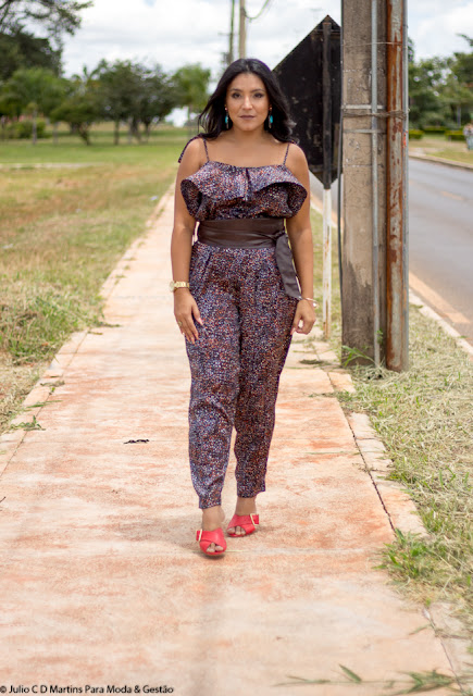 Look do dia: macacão de seda + mule