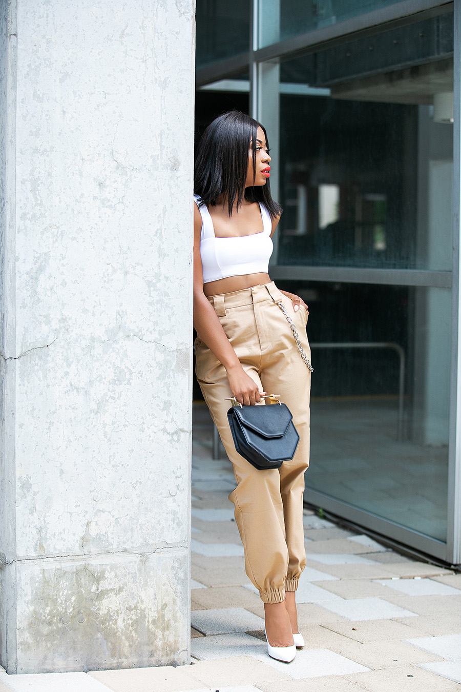 iamgia pants and crop top, www.jadore-fashion.com