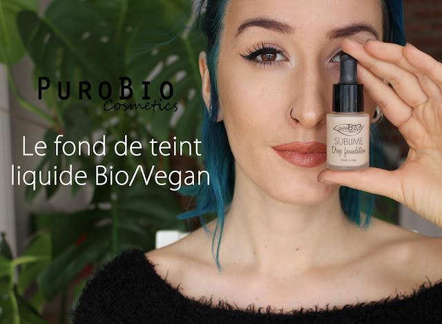 photo pour revue du fond de teint purobio