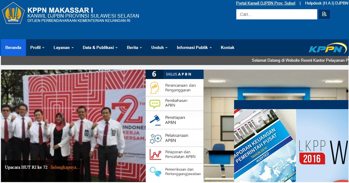 Alamat Lengkap Dan Nomor Telepon Kantor KPPN Di Sulawesi Selatan