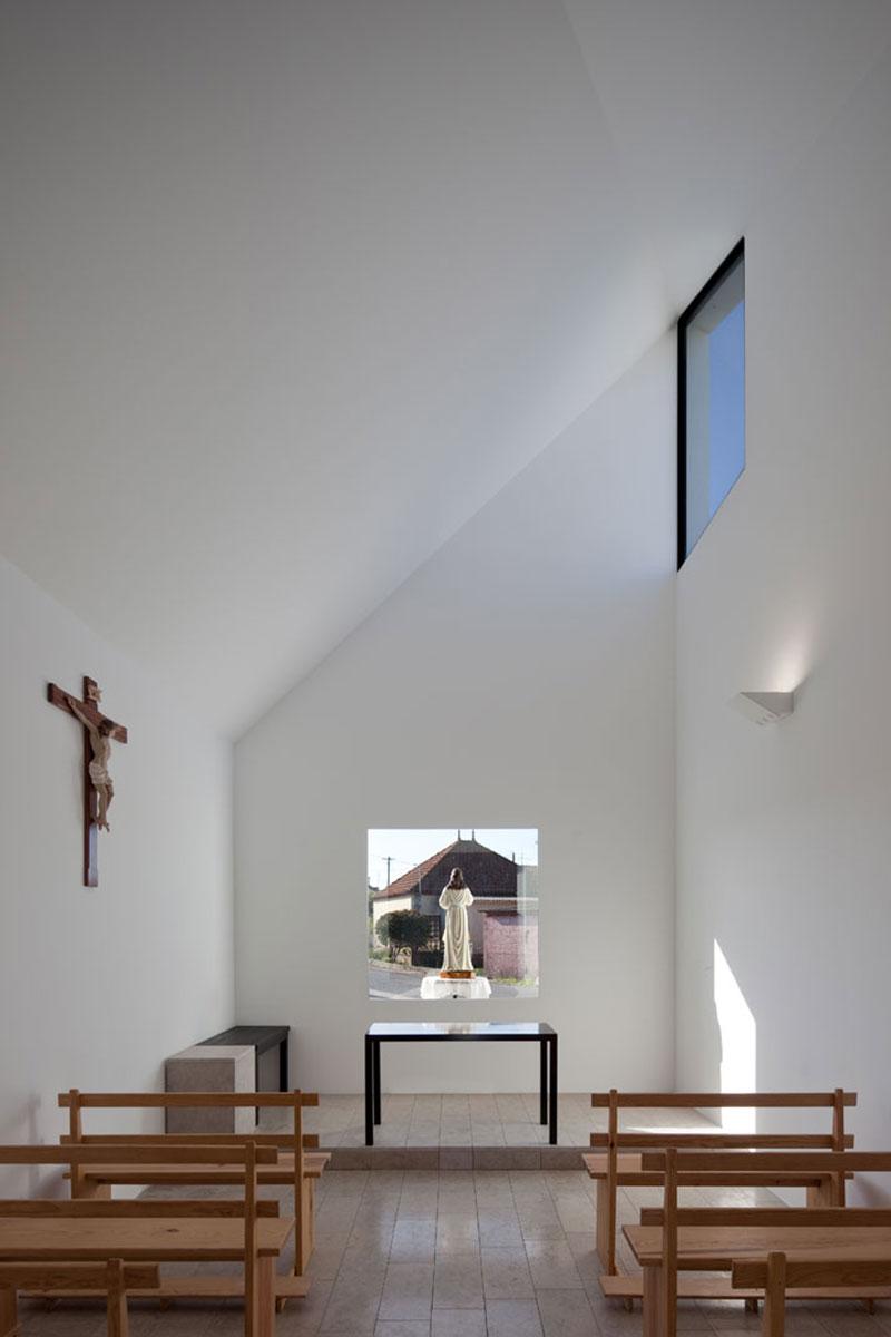 Capela-de-Santa-Filomena-04 Capela de Santa Filomena by Pedro Maurício Borges Design