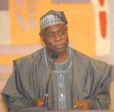 Africa has no business being poor  says Obasanjo