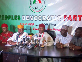 "Politics: ""Fresh PDP"" emerges, announces breakaway"